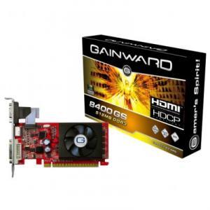 Placa Video Gainward GeForce 8400GS 512MB GDDR3 64bits