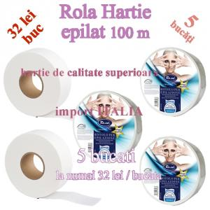 5 Buc Rola hartie epilat 100m 5 Buc Rola hartie epilat 100m