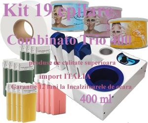 KIT 19 EPILARE COMBINATO TRIO 400