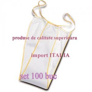 Chiloti femei TANGA unica folosinta, set 100 buc