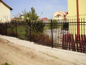 Gard teava rectangulara