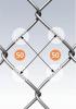 Plasa gard  impletita zincata 1.5m x