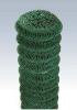 Plase gard impletite plastifiate verzi