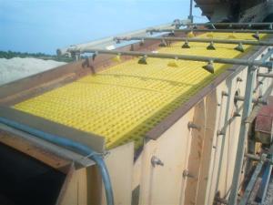 Site (plase) din poliuretan pentru balastiere