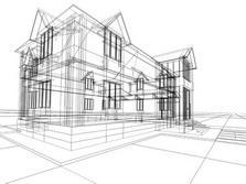 Schelet de casa din lemn