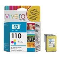 Print Cartridge HP 110 Tri-colour Inkjet (CB304AE)