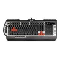 Tastatura pentru jocuri A4Tech G800MU, PS2