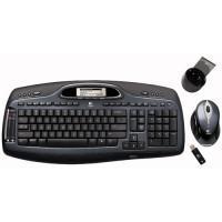 Tastatura si Mouse Logitech Cordless MX 5000 Laser, 967558-0924