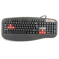 Professional Game Keyboard;104but + 8 Taste Predefinite; 4xFast; Rezistent la apa; conectare PS2,