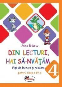 Fise de lectura clasa IV - Din lecturi hai sa-nvatam - Anina Badescu