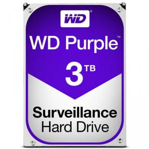 """HDD intern WD, 3TB, 3.5"""", SATA3, 5400rpm, 64MB, Purple"""