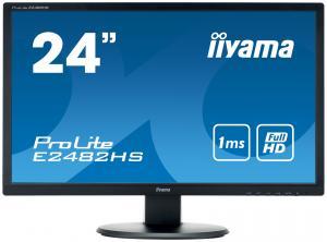 """Monitor iiyama ProLite E2482HS, 24"""", negru"""