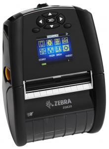 Imprimanta mobila de etichete Zebra ZQ620, Wi-Fi, bat. ext.