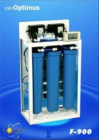 Sistem de filtrare profesionala cu UV - osmoza inversa cu Lampa UV 1 x 14W  F900 + UV 201