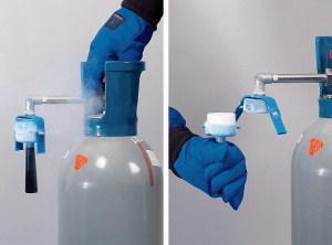 Dispozitiv pentru produs gheata carbonica