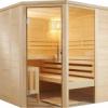 Sauna masiv tip komfort, alaska, basic, wellfun
