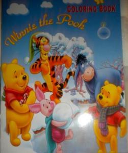 Carte de colorat Winnie the Pooh