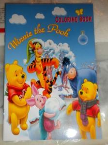 Carte de colorat mica Winnie the Pooh