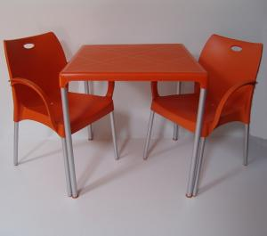 Masa patrata cu 2 scaune Anemona