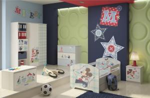 Camera copii Mickey Mouse Alb
