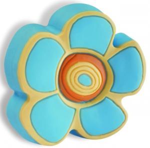 Buton floare albastra