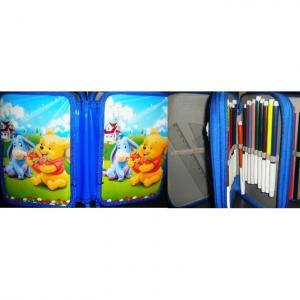 Penar copii Pooh si Magarus echipat cu 3 compartimente