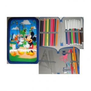 Penar copii Mickey si Donald echipat cu 2 compartimente