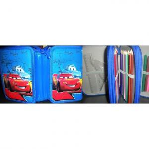 Penar copii Cars 2 echipat cu 3 compartimente