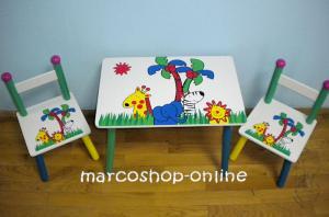 Masute cu scaunele pt copii