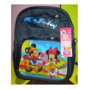 Ghiozdan 3 compartimente Mickey si Minnie