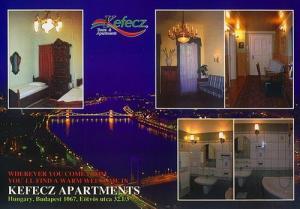 Hungary ~ Budapest >> ***Kefecz Apartments*** >> Ferenc Kelemen