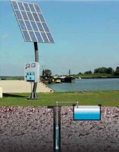 Pompa apa potabila cu panou solar