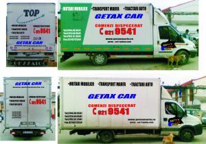 Transport marfa taxi