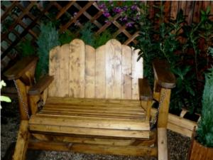 Mobilier pentru gradina - Balansoar pentru doua persoane