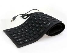 Tastatura flexibila silicon usb