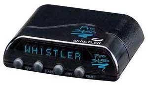 Detectoare radar whistler