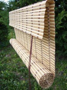 Jaluzele orizontale de bambus la comanda