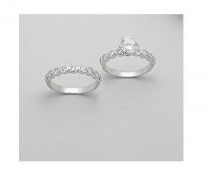 Inele argint logodna