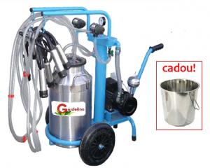 Aparat de muls vaci Gardelina 1 post 40 aluminiu