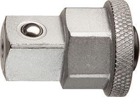 """Adaptor tubulare 1/4"""" pt chei combinate cu clichet, 10mm, Gedore"""