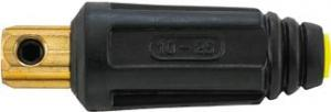 Stecher cablu sudura standard, 10-25 mmp,