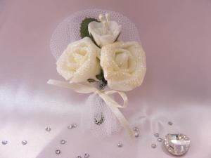 Cocarde flori artificiale
