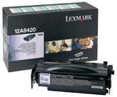 12A8420 Toner Blak  pt. Lexmark Optra T430, 6000 pag