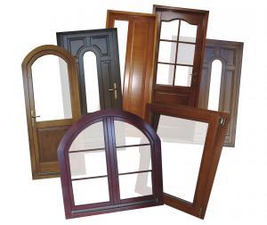 Tamplarie lemn cu geam termopan