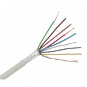 Cablu alarma 8x0.22 ecranat