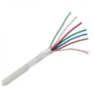 Cablu alarma 6x0.22 ecranat