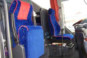 Tapiterie scaune pentru autocare