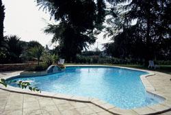 Structura piscina