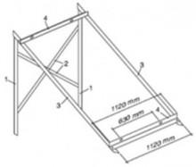 Kit montaj panou solar cu tuburi vidate HELIS JDL PM 10