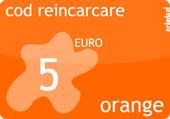 Cod cartela reincarcare orange